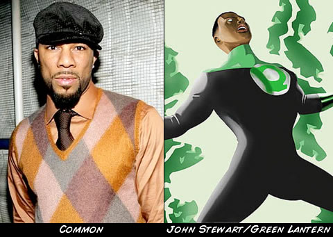 Common como Green Lantern